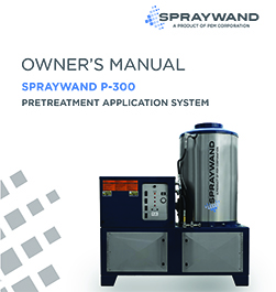 SprayWand P-300 Owners Manual Thumbnail Image