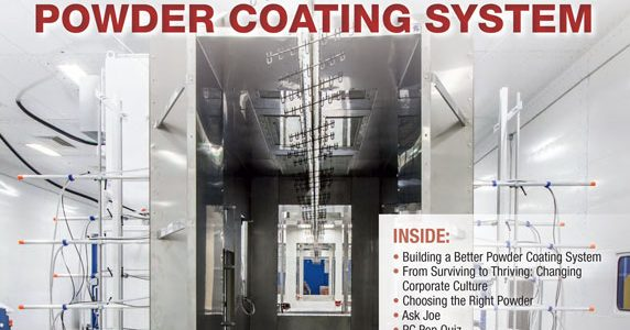 PEM Featured in Powder Coated Tough Magazine Image