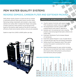 Water Quality Systems Product Literature Thumbnail Image